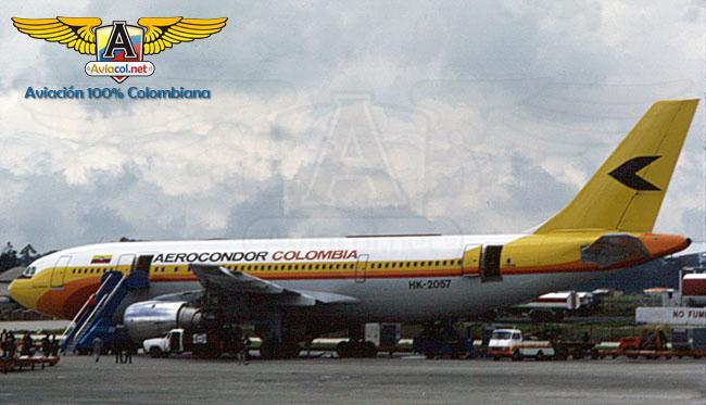 HK-2057 Airbus A300B4, en Eldorado