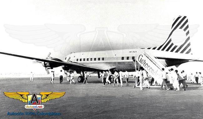 HK-752 Douglas DC-6, en Eldorado