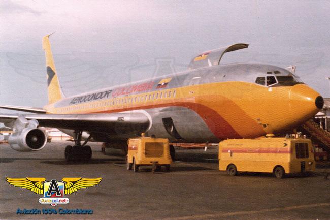 HK-1818, Boeing 707 - Aviacol.net El Portal de la Aviación Colombiana