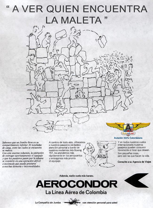 Publicidad de Aerocóndor