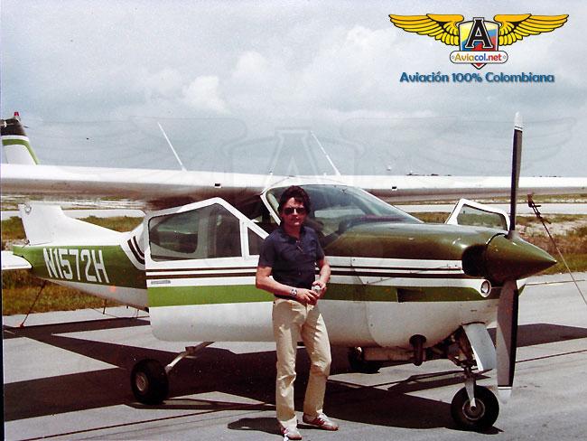Vincent Torres - Cessna 177RG - Aviacol.net