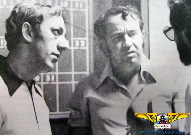 Juvenal Gaviria e Ignacio Mustafá