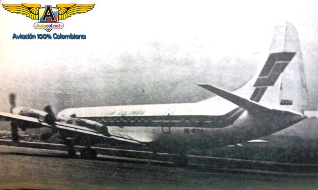 El HK-1274 llega a Aruba por primera vez