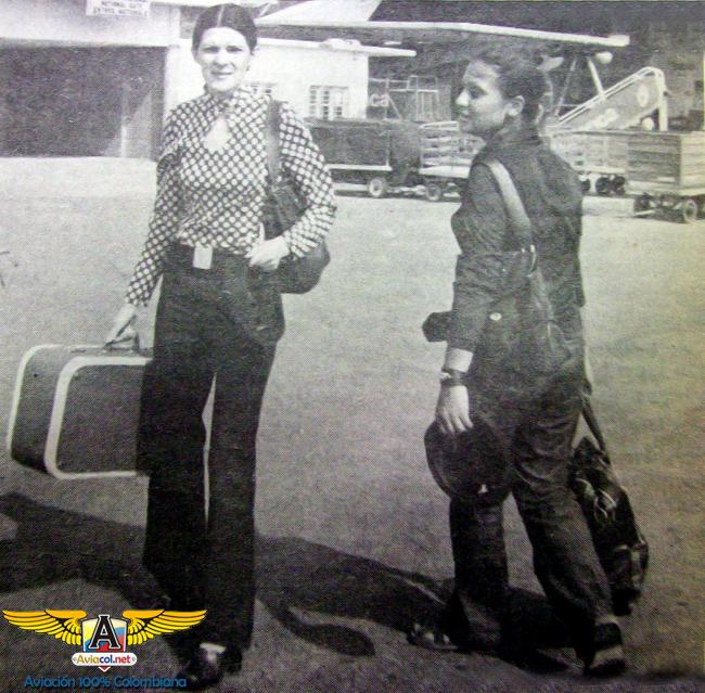 María Alexis Arango y Nancy Celis Villarreal