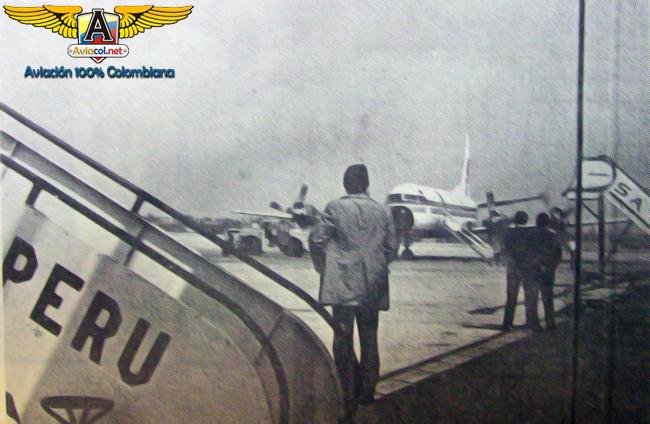 El HK-1274 llega a Lima