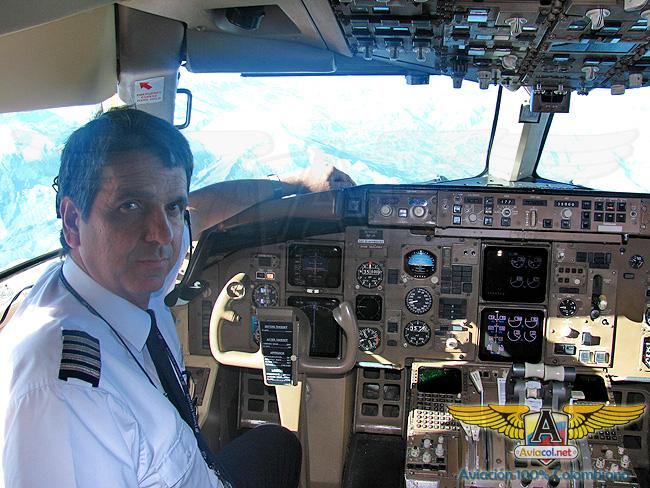Capitán Diego volando 767