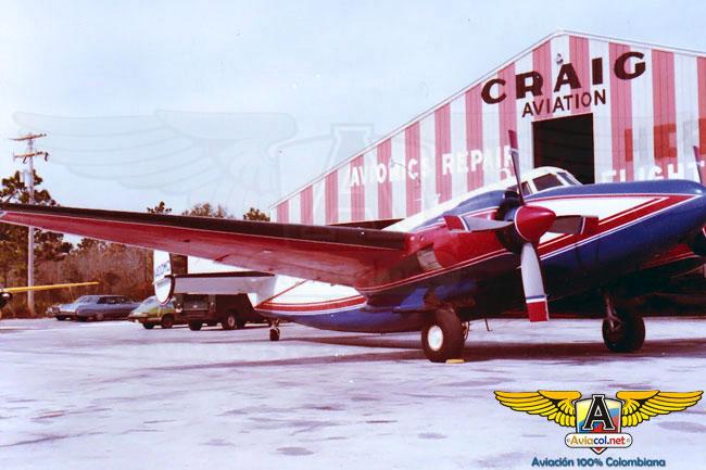 El BACC BA-400, único en el mundo, resguardado en Colombia | Aviacol.net El Portal de la Aviación Colombiana