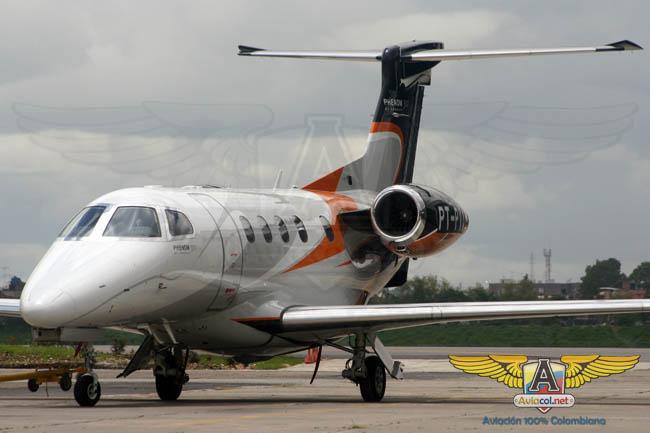 Embraer Phenom 300 - Aviacol.net El Portal de la Aviación Colombiana