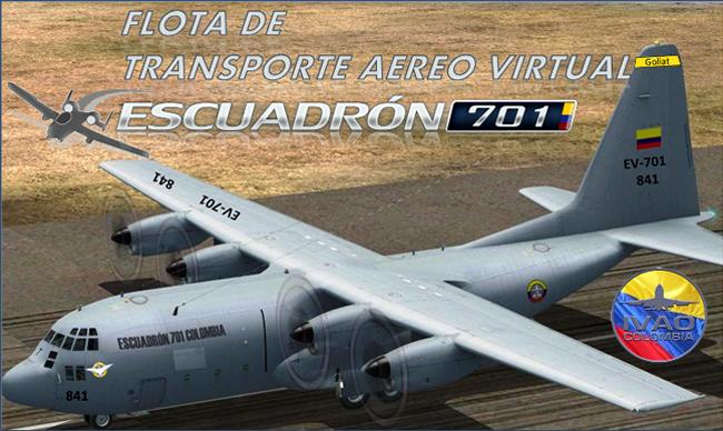 Escuadrón 701 - Aviacol.net El Portal de la Aviación Colombiana