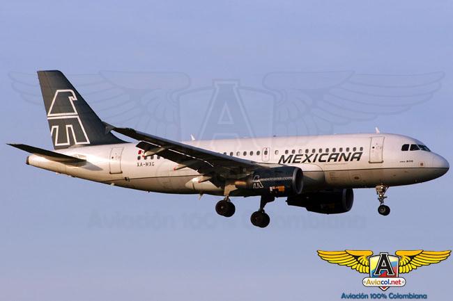 Mexicana de Aviación - Aviacol.net El Portal de la Aviación en Colombia