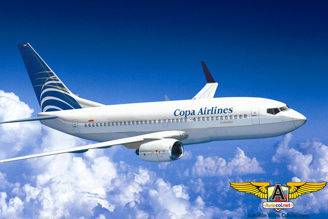 Boeing 737 - Copa Airlines Colombia
