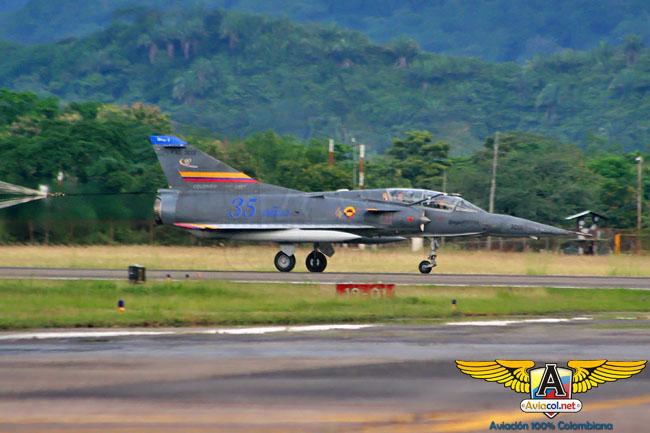 Homenaje Mirage 5 - Aviacol.net El Portal de la Aviación Colombiana