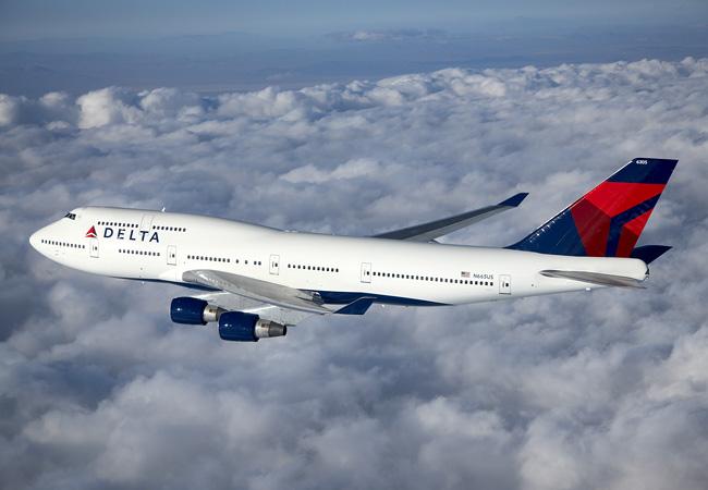 747-400 Delta Air Lines