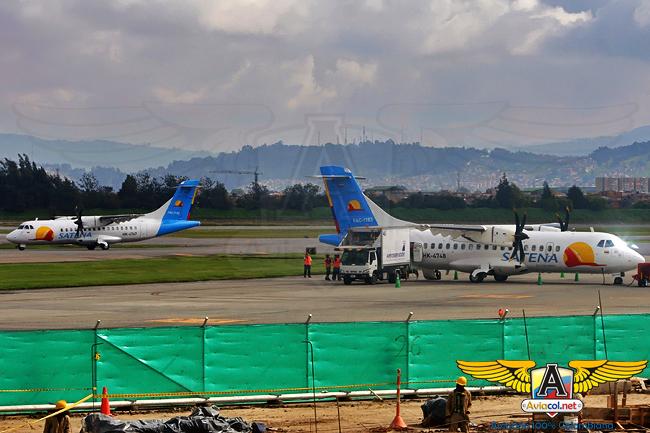 ATR-42 de Satena - Aviacol.net El Portal de la Aviación Colombiana