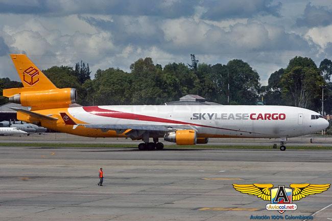 MD-11F de Sky Lease Cargo en Bogotá - Aviacol.net El Portal de la Aviación Colombiana