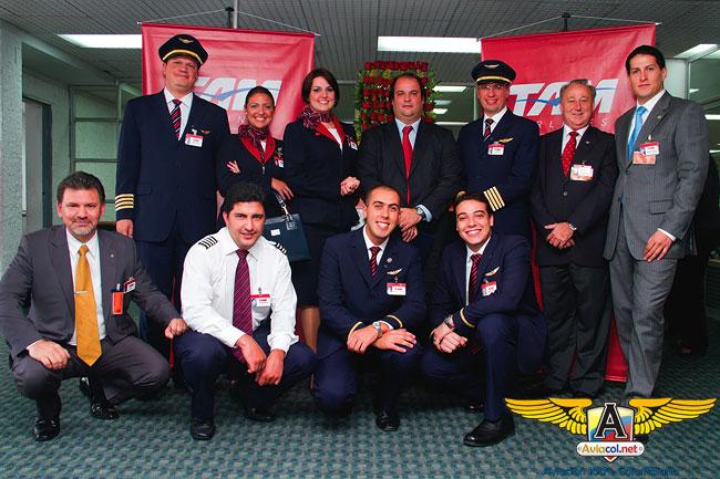 TAM inició vuelo a Bogotá - Aviacol.net El Portal de la Aviación Colombiana