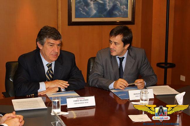 AviancaTaca y Aerolíneas Argentinas firman Acuerdo Comercial - Aviacol.net El Portal de la Aviación Colombiana