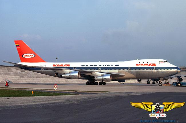 747 de Viasa - Aviacol.net El Portal de la Aviación Colombiana