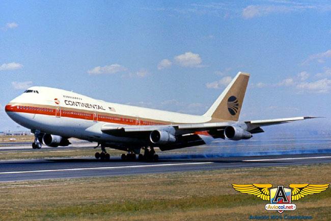 747 de Continental - Aviacol.net El Portal de la Aviación Colombiana