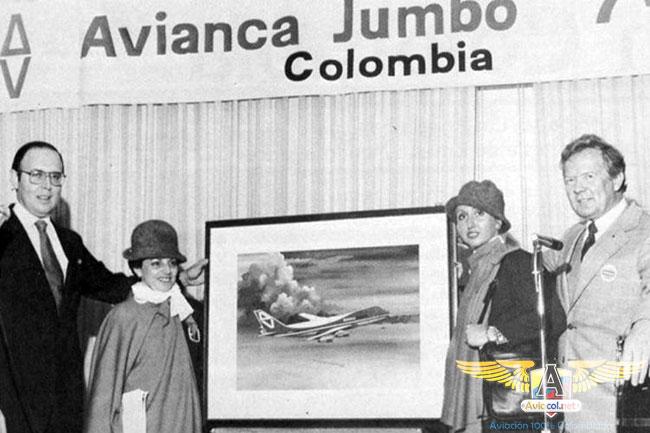 Llegada del Jumbo a Avianca - Aviacol.net El Portal de la Aviación Colombiana