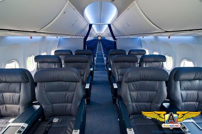 Boeing Sky Interior - Aviacol.net El Portal de la Aviación Colombiana