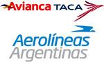 Logos AviancaTaca y Aerolíneas Argentinas - Aviacol.net El Portal de la Aviación Colombiana