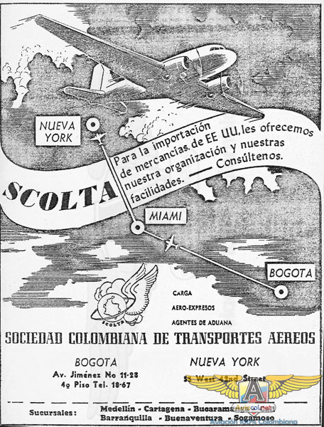 Publicidad SCOLTA - Aviacol.net El Portal de la Aviación Colombiana