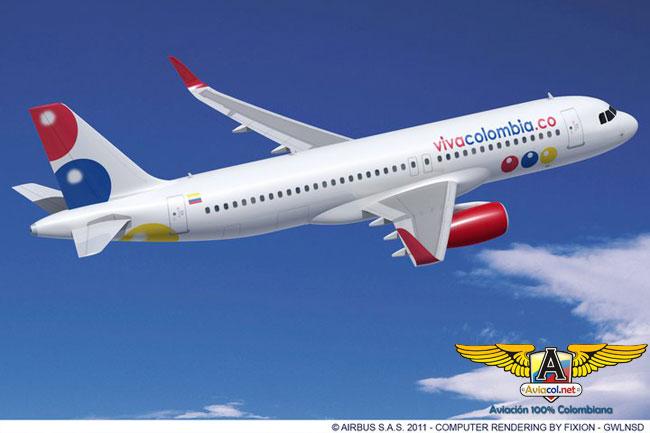 A320 de VivaColombia - Aviacol.net El Portal de la Aviación Colombiana