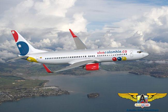 Boeing 737 de VivaColombia - Aviacol.net El Portal de la Aviación Colombiana