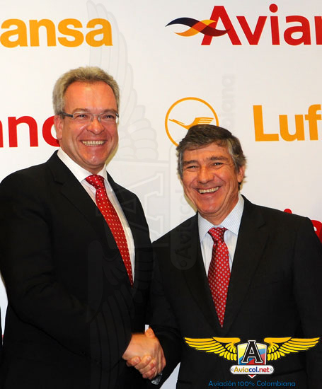 Acuerdo entre Avianca y Lufthansa - Aviacol.net El Portal de la Aviación Colombiana