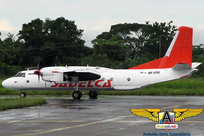 Antonov An-26 de Sadelca - Aviacol.net El portal de la Áviación Colombiana