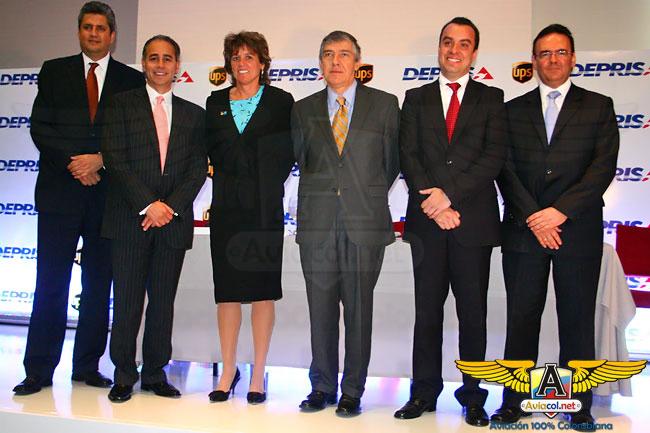 Deprisa y UPS firman alianza - Aviacol.net El Portal de la Aviación Colombiana
