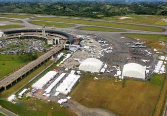 la feria contará con más de 90.000 metros cuadrados de exposiciones