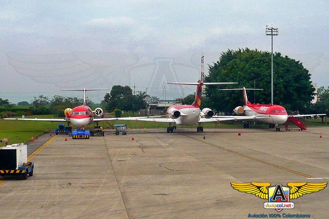 Fokker 100 de Avianca retirados - Aviacol.net El Portal de la Aviación Colombiana