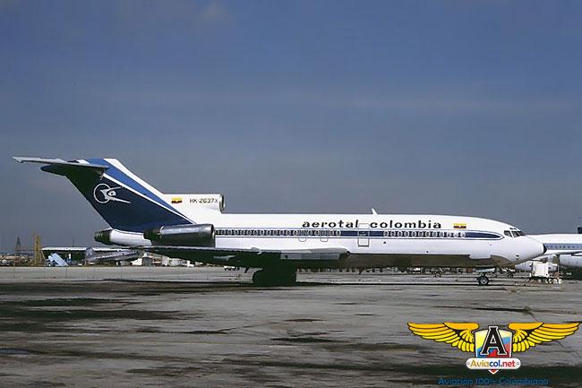 Relato del secuestro del 727 de Aerotal - Aviacol.net El Portal de la Aviación Colombiana
