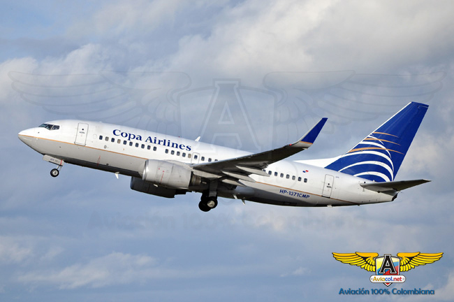 Copa Airlines Colombia Boeing 737-700 | Aviacol.net
