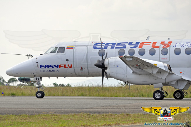 EasyFly BAE Jetstream 41 | Aviacol.net