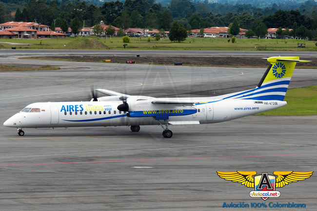 Aires Dash8-Q400 | Aviacol.net
