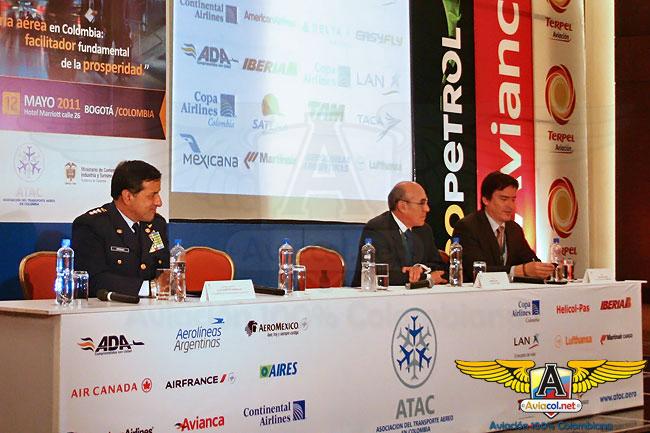 I Foro del Transporte Aéreo en Colombia ATAC | Aviacol.net El Portal de la Aviación Colombiana