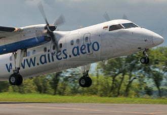 Aires modifica sus rutas y frecuencias | Aviacol.net El Portal de la Aviación Colombiana