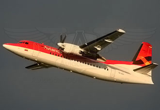 Fokker 50 de Avianca