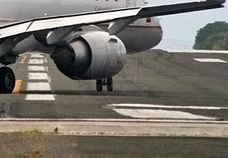 La pista del aeropuerto de San Andrés tiene problemas estructurales