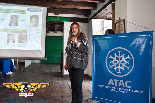 Claudia Velásquez Castaño, Directora ATAC | Aviacol.net