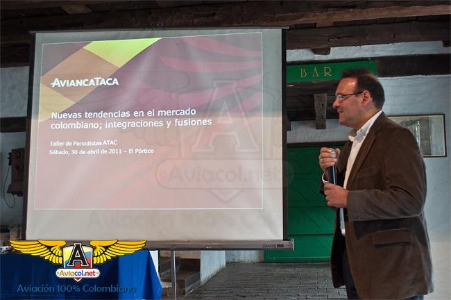 Eduardo Asmar, Vicepresidente de Planeación Corporativa de AviancaTaca | Aviacol.net
