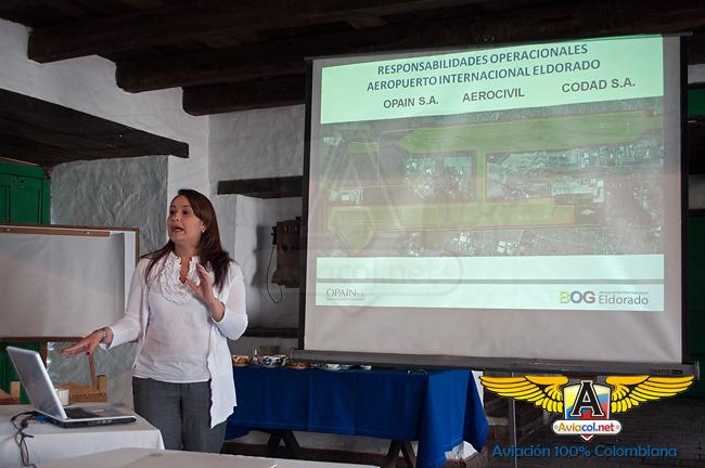 Isleny Posada, Directora de Seguridad Operacional OPAIN | Aviacol.net