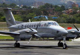 Avión King 350 presenta incidente en Medellín | Aviacol.net El Portal de la Aviación Colombiana