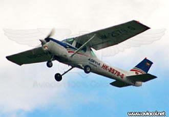HK-2579-G se accidenta en Sopó | Aviacol.net El Portal de la Aviación Colombiana