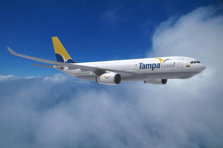 Render del Airbus A330-200F de Tampa Cargo