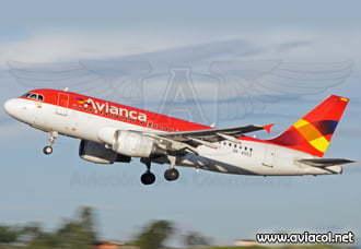 Avianca Airbus A319