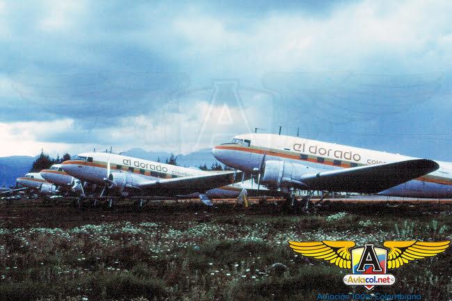 DC-3 de Aerolíneas Eldorado